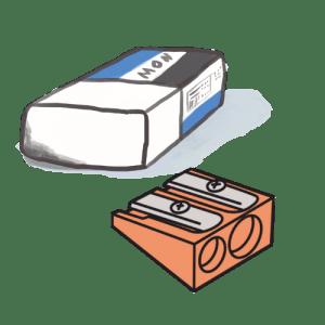 Erasers & Pencil Sharpeners
