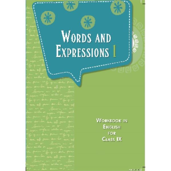 Words and expressions for class 9th (workbook in English)