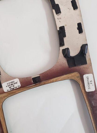 Center Console Shifter Trim Panel Wood OEM Mercedes Benz W203 C230 C240 C320