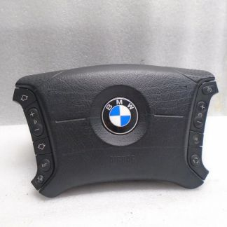 BMW X5 2000-2006 DRIVERS STEERING WHEEL AIR SAFETY BAG (3367521643) OEM DK80489