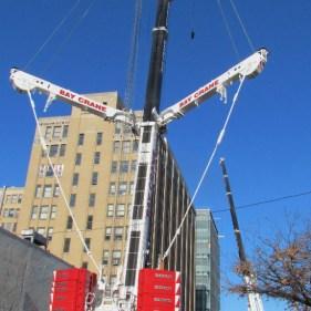 Safe moving, rigging