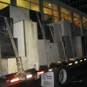 Safety deposit box removal