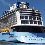 オーストラリアの巨大豪華クルーズ客船Ovation of the Seasとは?船内設備や料金は?
