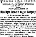 Myra Carden's Magnet Co [CRE 2 Mar 1889, 5]