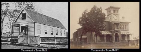Toowoomba Town Halls 1 & 2