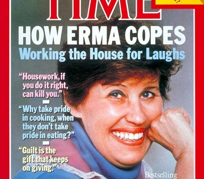 """Erma Bombeck, """"The Grass Is Always Greener Over the Septic Tank,"""""""