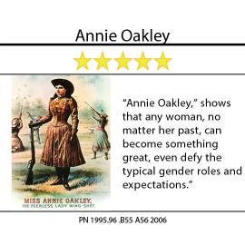 Annie Oakley, Sharpshooter