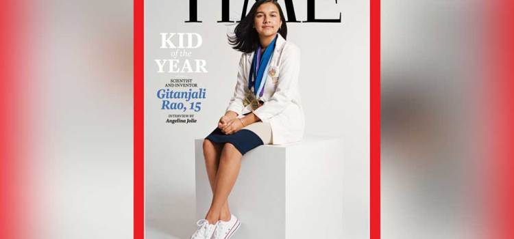 TIME Names 15-year-old scientist and inventor Gitanjali Rao its first Kid of the Year