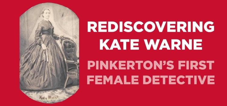 Kate Warne, Pinkerton Detective 1856