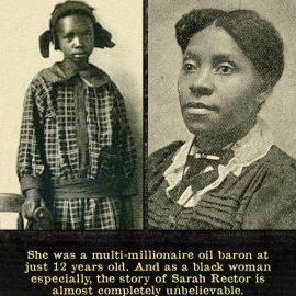 Sarah Rector, Negro Girl's Big Tax
