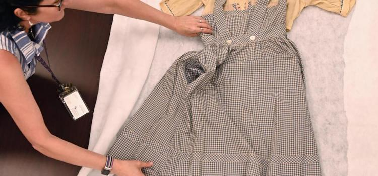 A 'The Wizard of Oz' dress—missing for decades—discovered at Catholic University