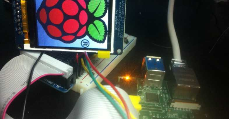Raspberry Pi with a TFT