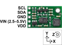 Guide to interfacing a Gyro and Accelerometer with a