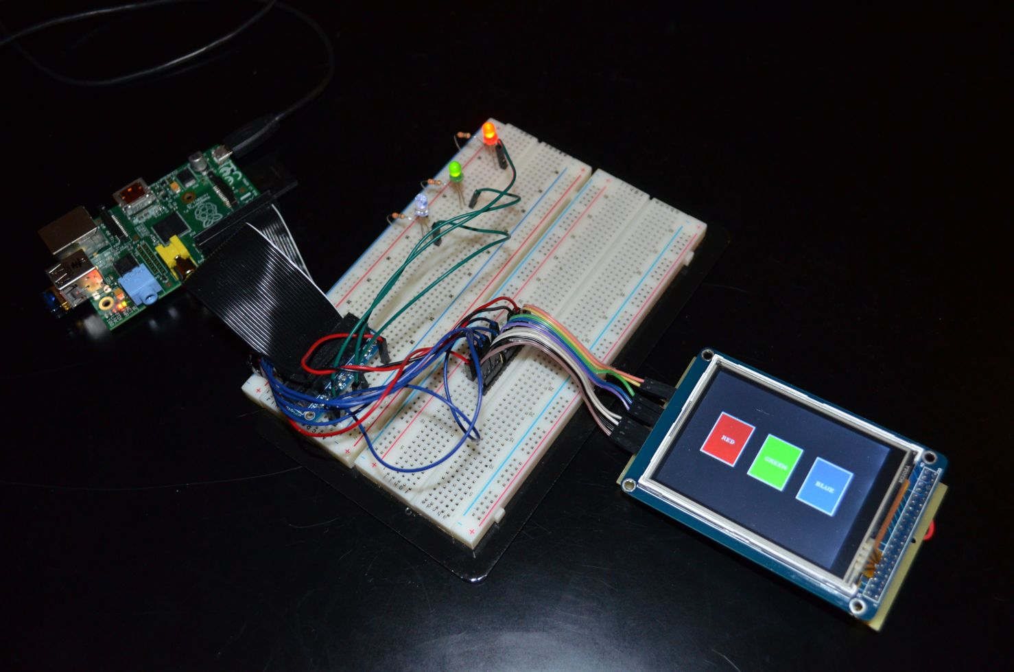 Wiringpi Button Example Smart Wiring Diagrams Gpio Table Controlling The On A Raspberry Pi With Touchscreen Pwm B Pinout
