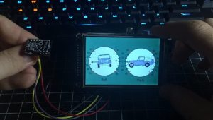 Inclinometer raspberry pi