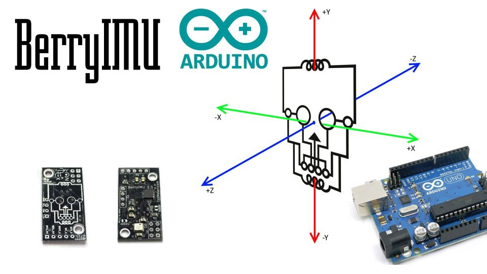 BerryIMU code for Arduino – Accelerometer, Gyroscope and
