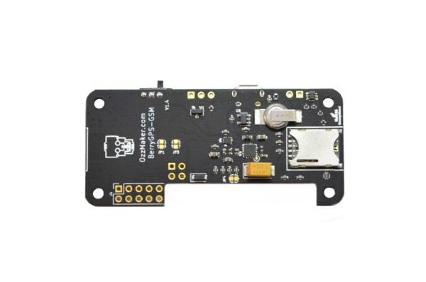 BerryGPS-GSM - Global 3G/2G cellular modem with GPS + SIM