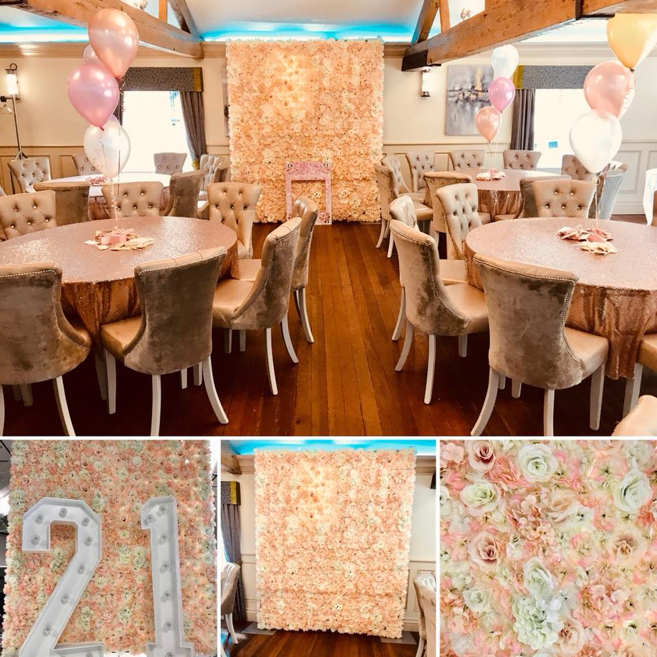 chair cover hire merseyside covers ikea canada flower wall liverpool cheshire blush pink chester wirral