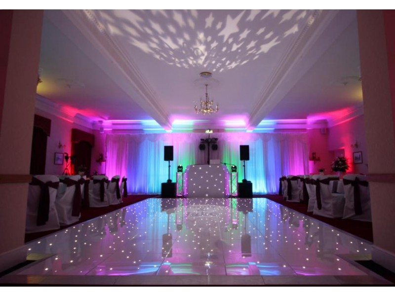 white wedding chair covers hire best for back dance floor in liverpool & cheshire - ozzy james parties and events