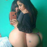 Nicol, Una Linda Peruana con Extravagante Culo.