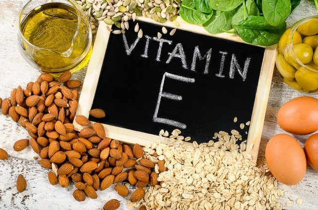 Foods you can get vitamin E from