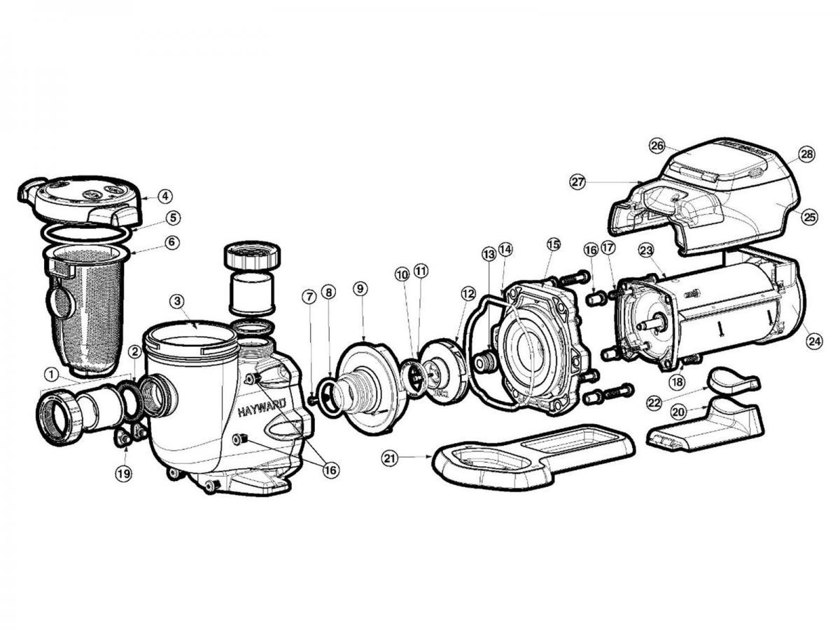 Hayward Super Pump Wiring Diagram 230v