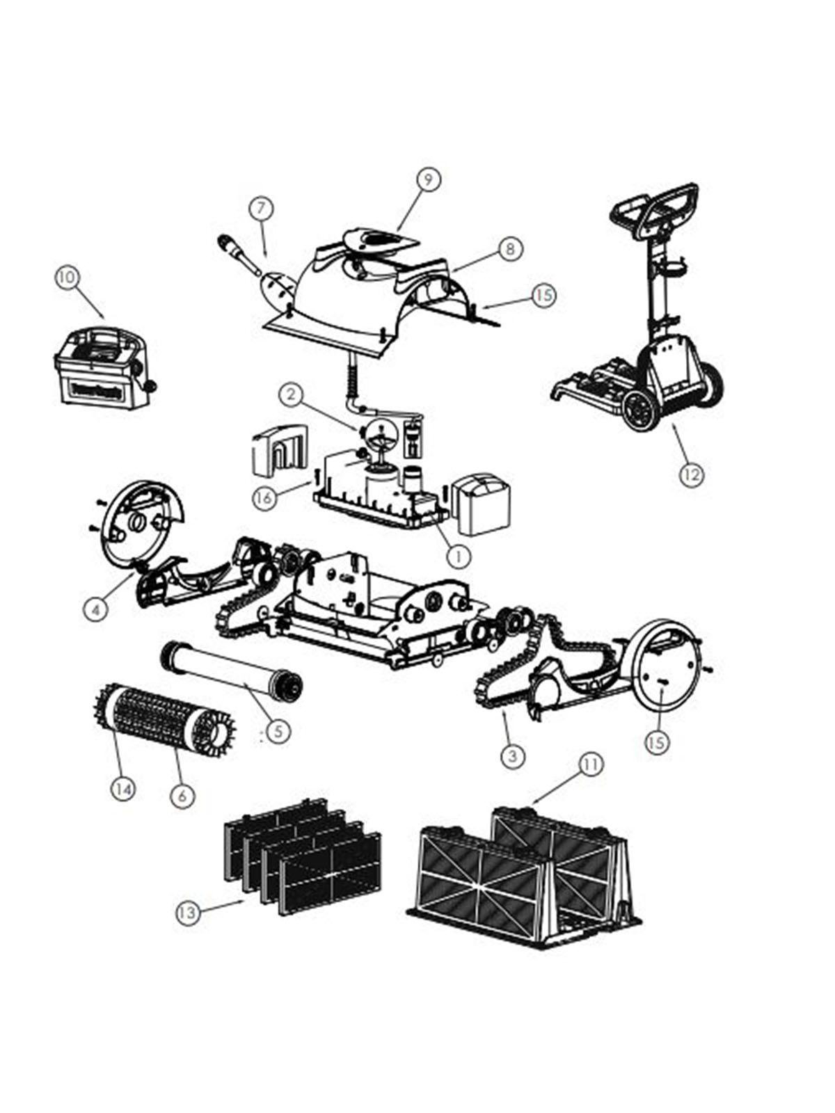 Pentair Kreepy Krauly Prowler 820 Robotic Automatic