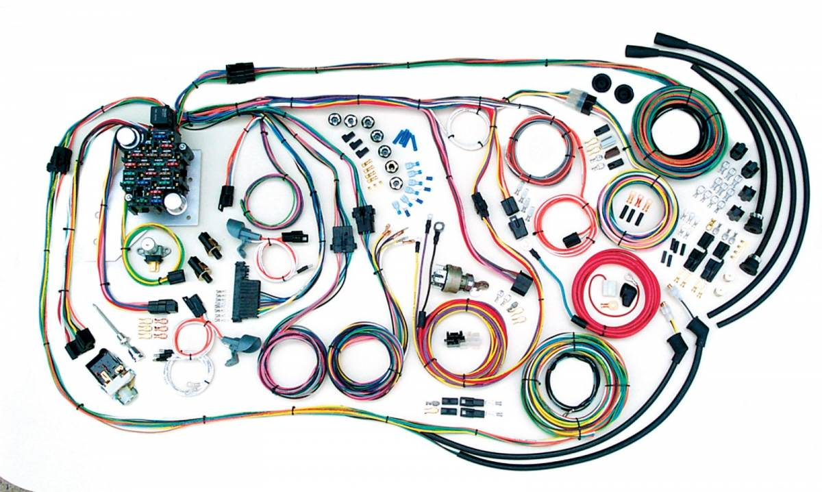 hight resolution of american autowire wiring harness additional images