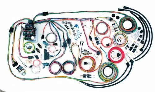 small resolution of american autowire wiring harness additional images