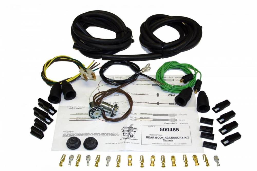 medium resolution of american autowire wiring harness additional images