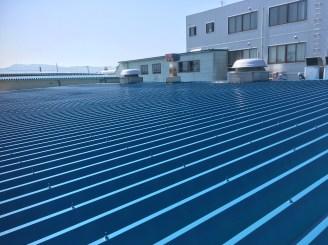 新発田市 S工場 屋根塗装