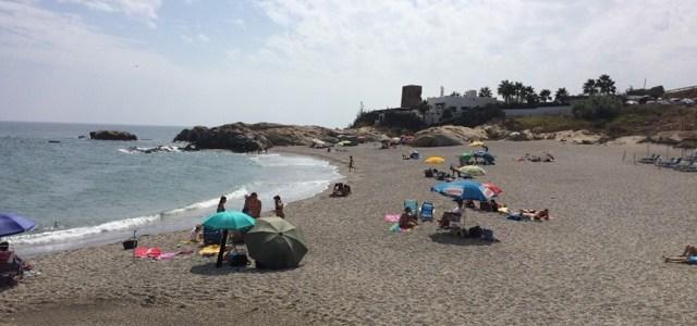 6/9 – Strand och sen restaurang i Estepona