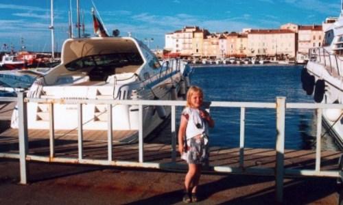 25/6 – En dag på stranden som vi avslutade i St Tropez