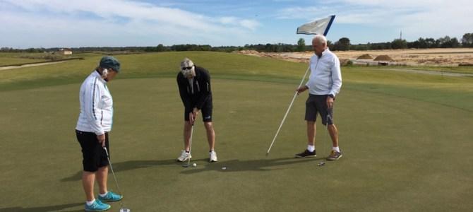 10/3 – Vår livs första golf-runda!