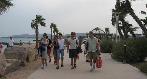 20/6 – Besök på campingen som vi tog med till Cannes