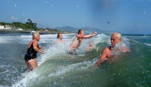 9/7 – En strand söder om Sperlonga