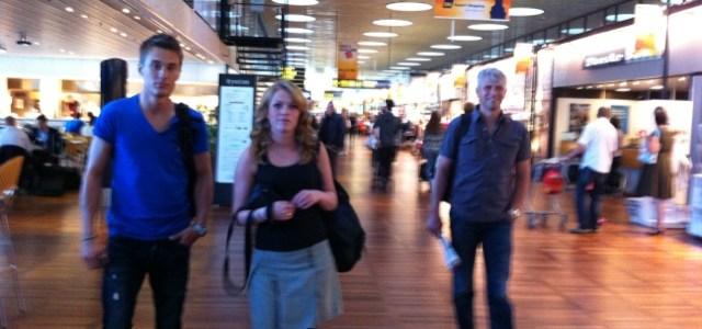 25/7 – Första resan. Berth, Kate Tom och Elin åker först.