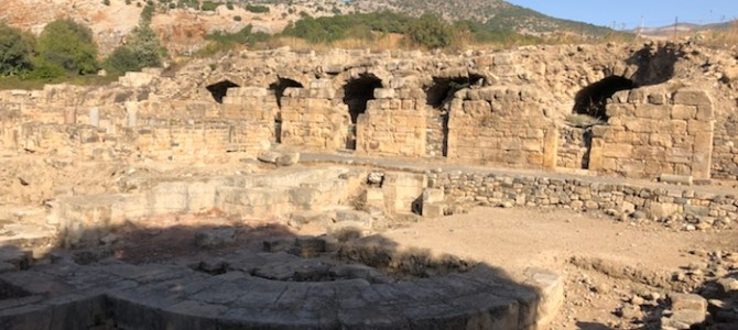 30/10 – norra Israel, Golan och Dan