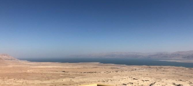 1/11 – Masada, Döda havet & Ein Gedi