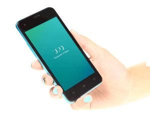 UPQ Phone A01 ブラック