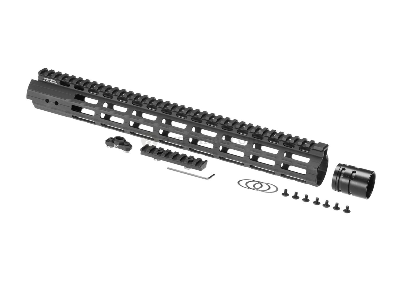 AR-15 15 Inch Super Slim Free Float Handguard M-Lok