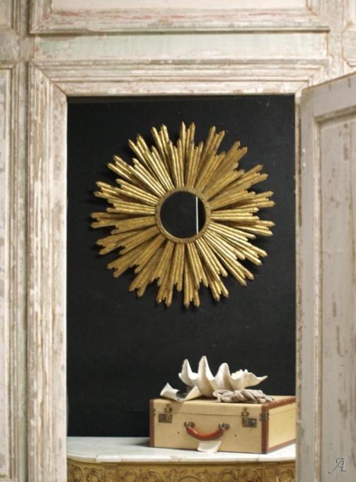 grand miroir soleil des annees 50 60