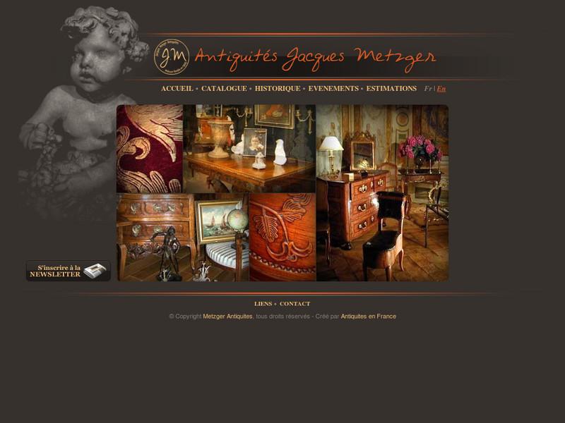 metzger antiquites en france artisans