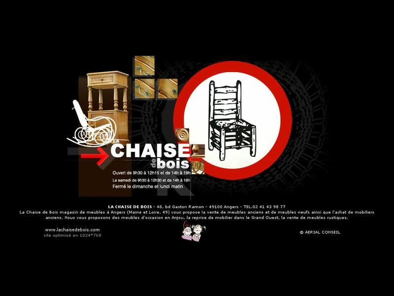 la chaise de bois artisans du patrimoine