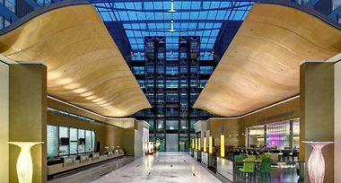 Hotel Hilton Frankfurt Airport Frankfurt Am Main 4 Germany