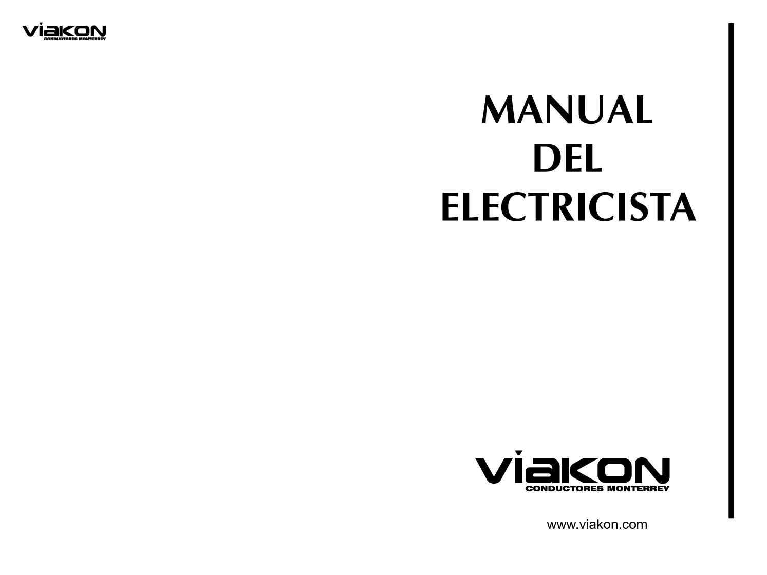 MANUAL ELECTRICISTA VIAKON PDF