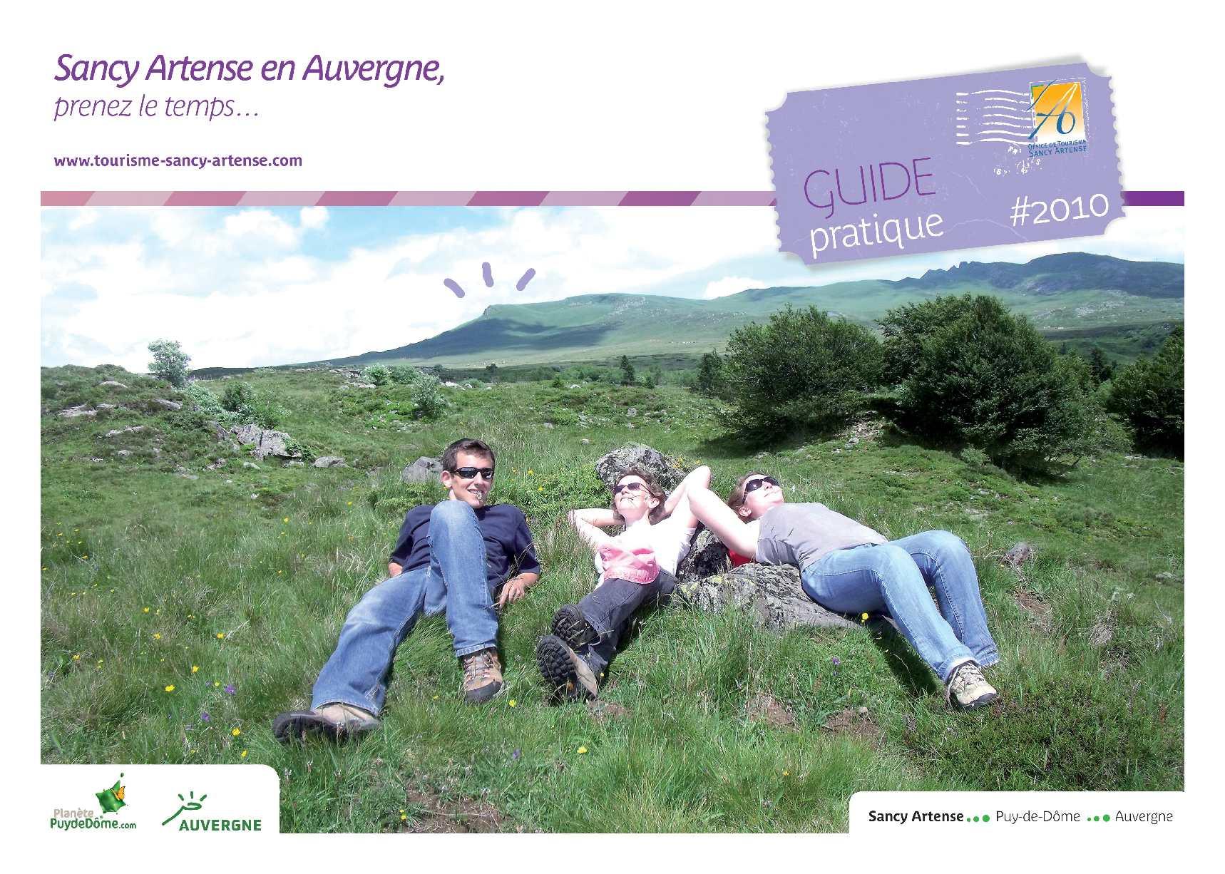 Calamo Guide Pratique Sancy Artense 2010