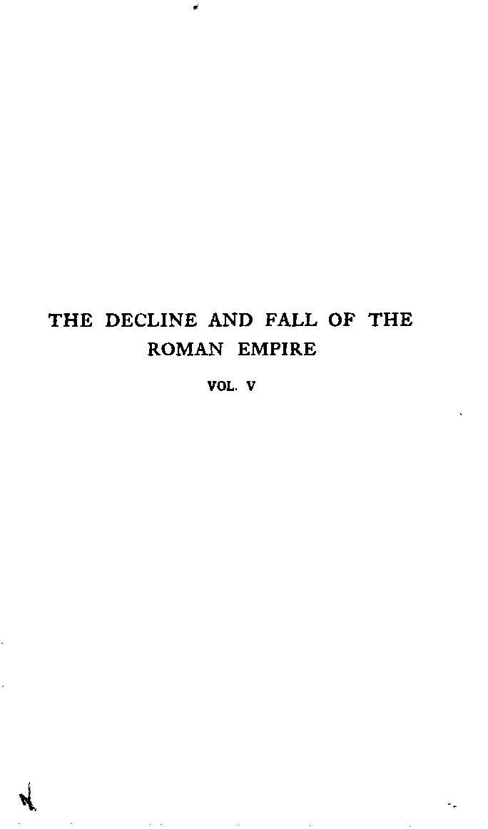 Calaméo The History Of The Decline And Fall Of The Roman Empire Volume 5