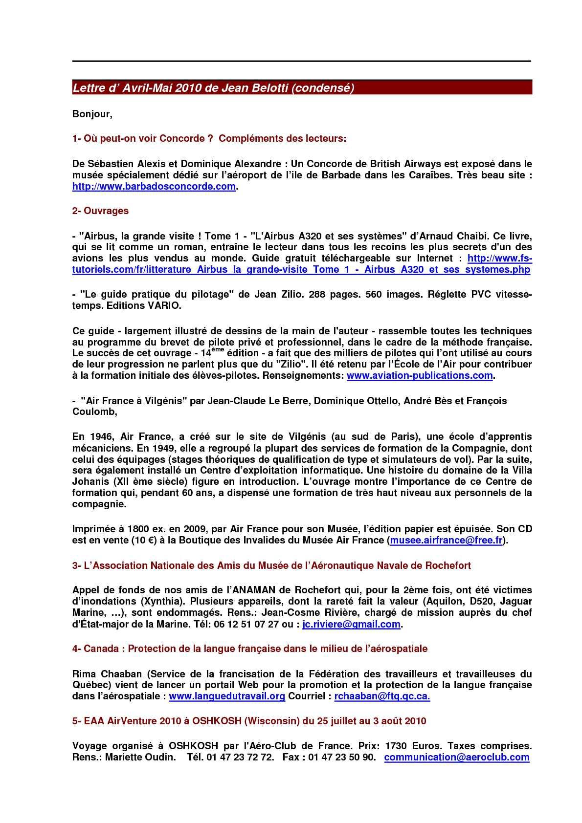 14 Lettre N 14 Infos Aeronautiques Du Cdrh Nancy Ochey