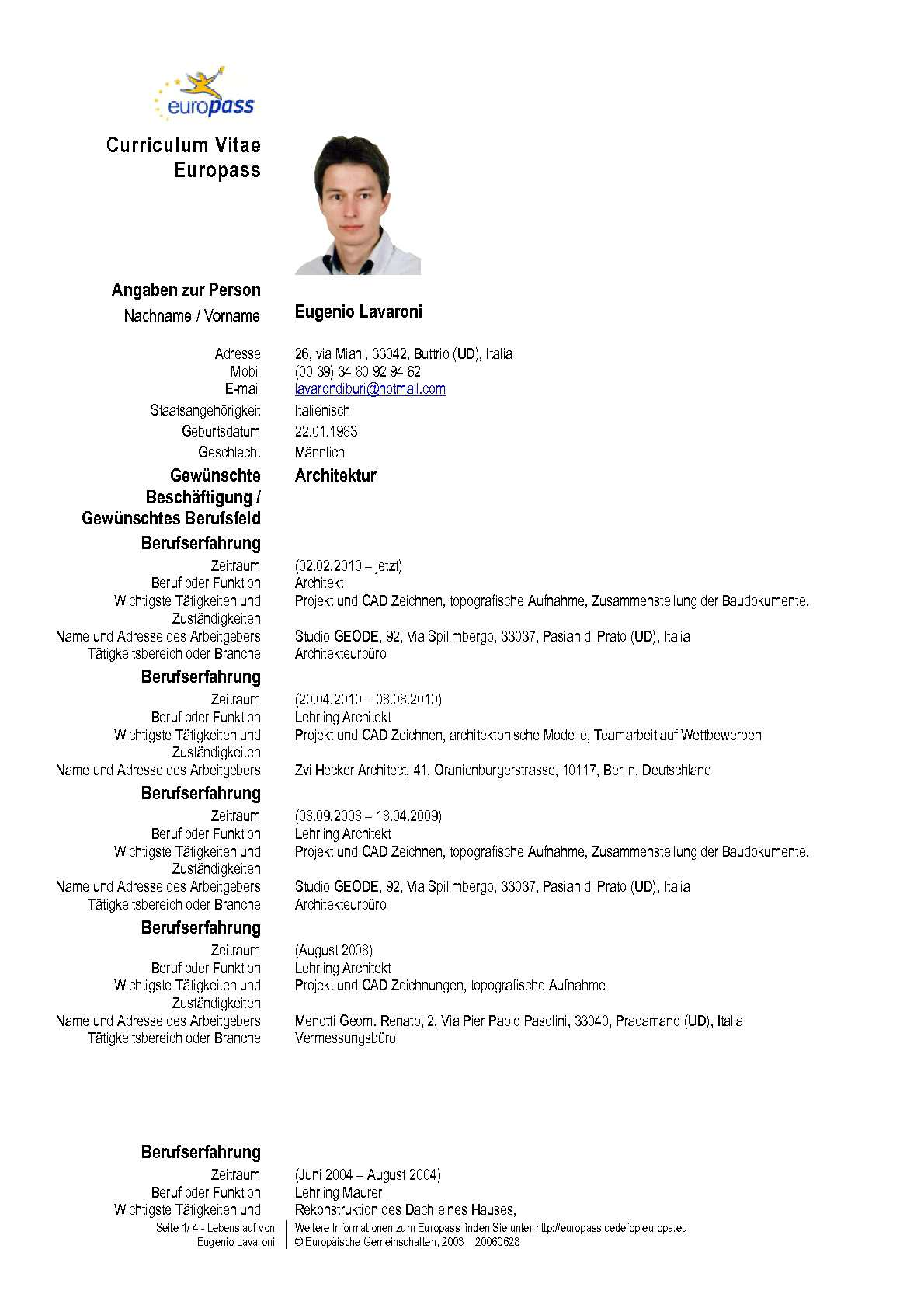 Bewerbung Englisch Cover Letter Vorlage